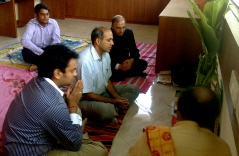 The pic is the Opening Puja of InOpen's Office.
